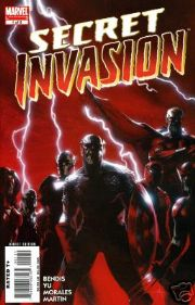 Secret Invasion #1 Marvel comic book